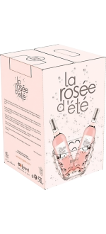 WINE BOX 5L - LA ROSEE D'ETE 2019 - DOMAINE LORGERIL