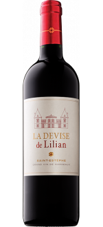 LA DEVISE DE LILIAN 2017 - SECOND WINE OF CHATEAU LILIAN-LADOUYS