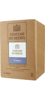 WINE BOX 5L - ANJOU ROUGE 2019 - CHATEAU DU BREUIL