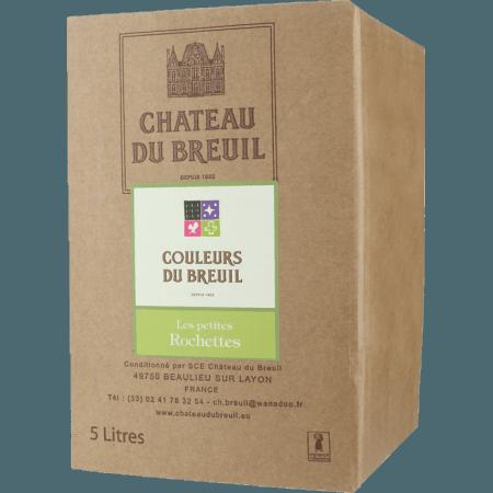 WINE BOX 5L - ANJOU BLANC - LES PETITES ROCHETTES 2019 - CHATEAU DU BREUIL