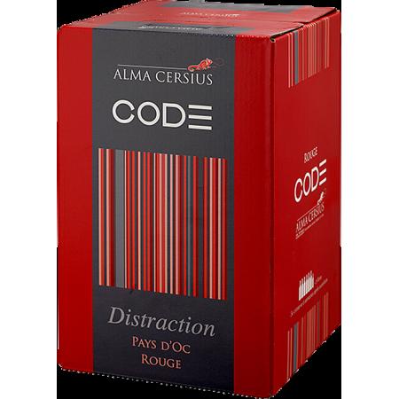 WINE BOX 3L - ROUGE DISTRACTION - ALMA CERSIUS