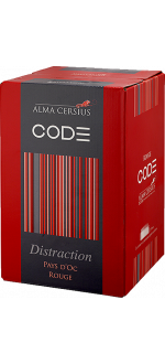 WINE BOX 3L - ROUGE DISTRACTION - ALMA CERSIUS