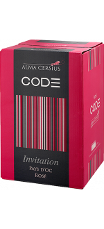 WINE BOX 3L - ROSE INVITATION - ALMA CERSIUS