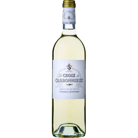 LA CROIX DE CARBONNIEUX BLANC 2017 - SECOND WINE OF CHATEAU CARBONNIEUX