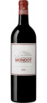 MONDOT 2016 - SECOND WINE OF CHATEAU TROPLONG MONDOT
