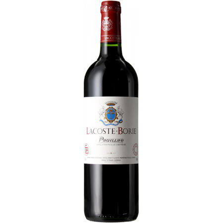LACOSTE BORIE 2015 - SECOND WINE OF CHATEAU GRAND-PUY-LACOSTE