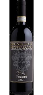BRUNELLO DI MONTALCINO 2015 - VILLA POGGIO SALVI