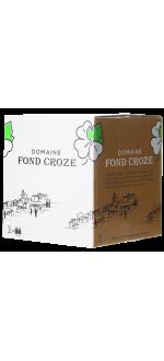 WINE BOX 3L - IGP ROUGE 2019 - DOMAINE FOND CROZE