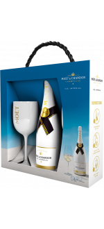 CHAMPAGNE MOET ET CHANDON - ICE IMPERIAL - GIFT SET WITH 2 GLASSES