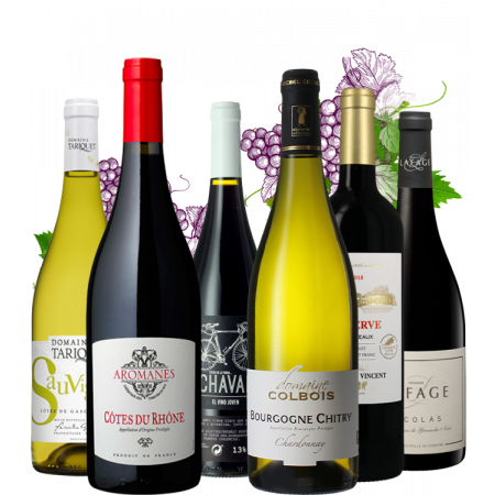 THE 'FOIRE AUX VINS' WINE FAIR SPECIAL MIXED CASE - PACK OF 6 BOTTLES