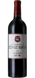 LA RESERVE DE LEOVILLE BARTON 2016 - SECOND WINE OF CHATEAU LEOVILLE BARTON