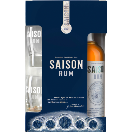 RUM SAISON - EN GIFT SET 2 GLASSES