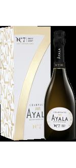 CHAMPAGNE AYALA - N°7 BRUT 2007 - EN GIFT SET
