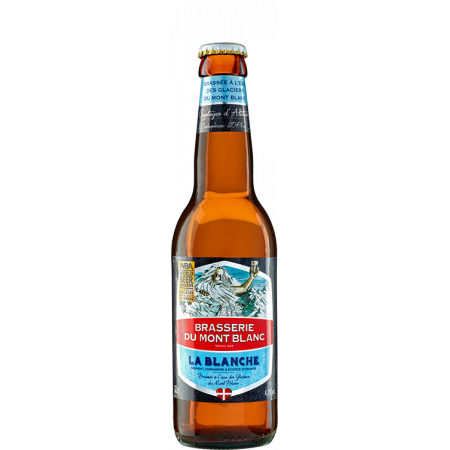 BLANCHE DU MONT-BLANC 33CL - BREWERY DU MONT-BLANC - WHEAT BEER