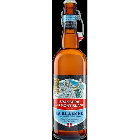BLANCHE DU MONT-BLANC 75CL - BREWERY DU MONT-BLANC - WHEAT BEER