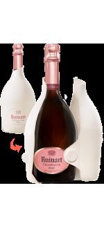 CHAMPAGNE RUINART - BRUT ROSE - SECOND SKIN CASE
