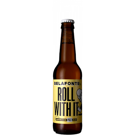 ROLL WITH IT 33CL - AMERICAN PALE ALE - BELAFONTE BREWING COMPANY