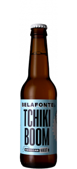 TCHIKI BOOM 33CL - AMERICAN WHEAT - BELAFONTE BREWING COMPANY
