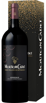 MAGNUM MOUTON CADET 2017 IN PRESENTATION CASE - BARON PHILIPPE DE ROTHSCHILD