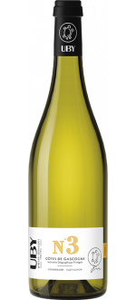 COLOMBARD-SAUVIGNON BLANC N°3 2019 - DOMAINE UBY