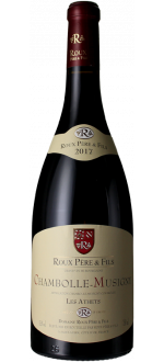 CHAMBOLLE MUSIGNY - LES ATHETS 2017 - DOMAINE ROUX PERE ET FILS