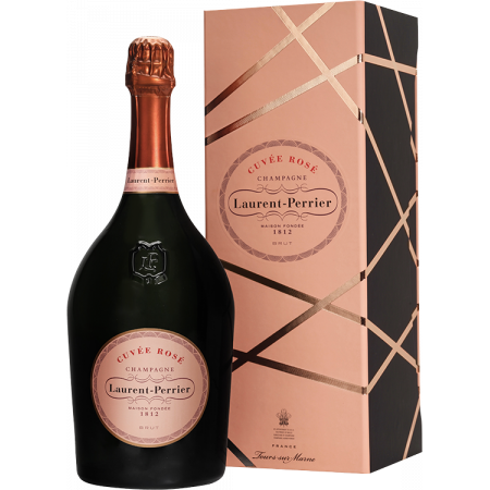 CHAMPAGNE LAURENT-PERRIER - CUVEE ROSE - MAGNUM