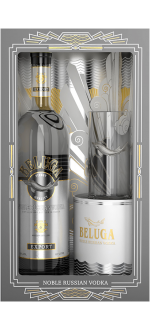 VODKA BELUGA NOBLE + 1 GLASS A COCKTAIL EN GIFT SET