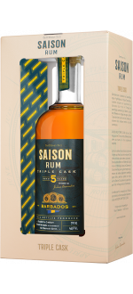 RUM SAISON TRIPLE CASK - BARBADOS 5 YEARS OLD - IN PRESENTATION CASE