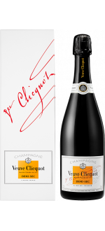 CHAMPAGNE VEUVE CLICQUOT - DEMI-SEC - IN PRESENTATION CASE