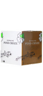 WINE BOX 3L - IGP ROSE 2020 - DOMAINE FOND CROZE