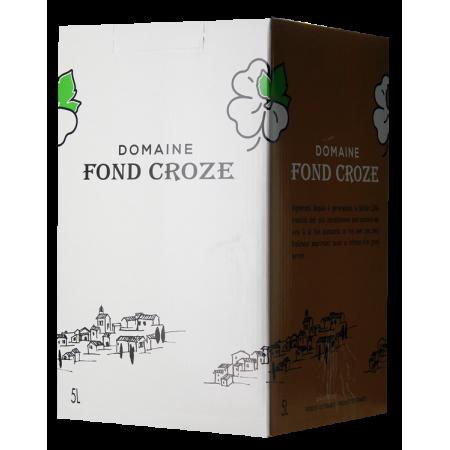 WINE BOX 5L - CONFIDENCE 2020 - DOMAINE FOND CROZE