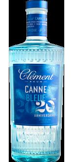 CLÉMENT - RUM BLANC AGRICOLE - CANNE BLEUE MILLÉSIME 2020