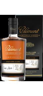 CLÉMENT - RUM VIEUX AGRICOLE - PRIVATE CASK - CHAUFFE-ALLIGATOR