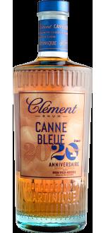 CLÉMENT - RUM VIEUX AGRICOLE - CANNE BLEUE 20EME ANNIVERSAIRE