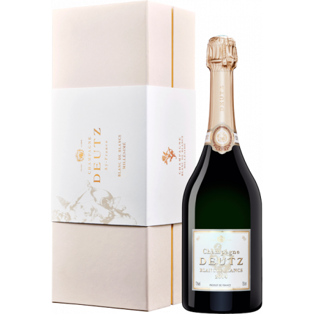 CHAMPAGNE DEUTZ - BLANC DE BLANCS VINTAGE 2016 - IN PRESENTATION CASE