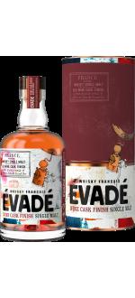 WHISKY FRANCAIS EVADÉ - SINGLE MALT RED WINE CASK FINISH - IN PRESENTATION CASE