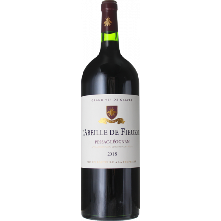 MAGNUM L'ABEILLE DE FIEUZAL 2018 - SECOND WINE OF CHATEAU DE FIEUZAL