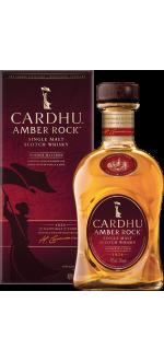 CARDHU AMBER ROCK - IN PRESENTATION CASE