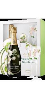 CHAMPAGNE PERRIER JOUËT - BELLE EPOQUE 2012 - COFFRET 2 FLÛTES