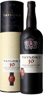 PORT TAYLOR'S - 10 YEARS OLD - IN PRESENTATION CASE