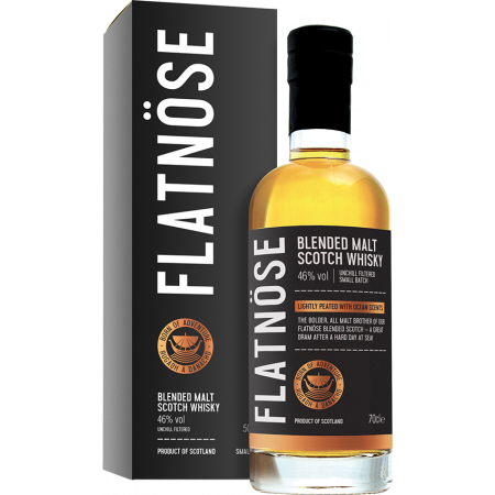 FLATNÖSE - BLENDED MALT - IN PRESENTATION CASE