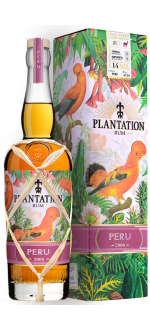 PLANTATION RUM - 2006 PERU - IN PRESENTATION CASE