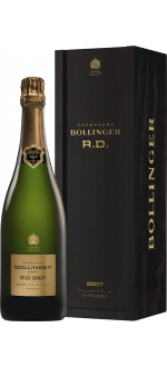 CHAMPAGNE BOLLINGER - CUVEE R.D. 2007 - EN GIFT SET