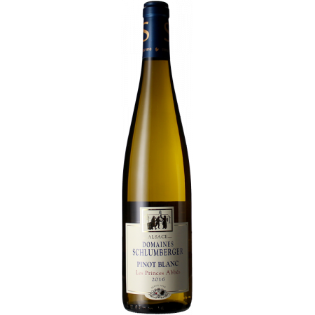 PINOT BLANC 2016 - LES PRINCES ABBES - DOMAINE SCHLUMBERGER