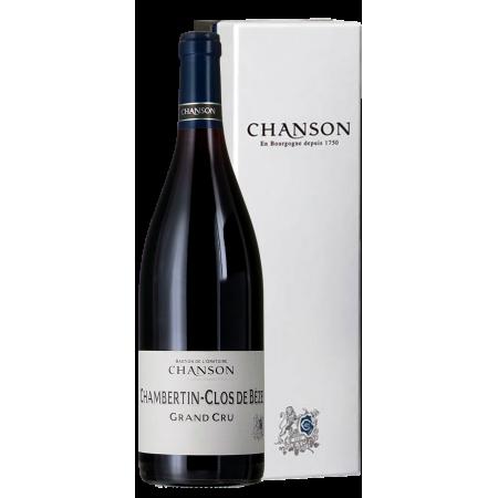 CHAMBERTIN CLOS DE BEZE GRAND CRU 2015 - DOMAINE CHANSON PÈRE ET FILS IN GIFT BOX