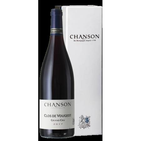 CLOS DE VOUGEOT GRAND CRU 2017 - CHANSON PÈRE ET FILS IN GIFT BOX