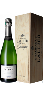 CUVEE OUVRAGE GRAND CRU - CHAMPAGNE LALLIER - WOODEN CASE