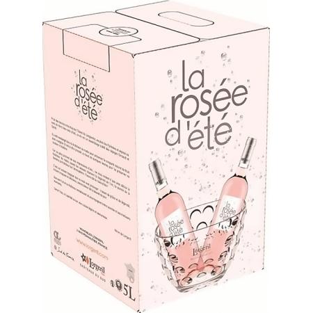 WINE BOX 5L - LA ROSEE D'ETE 2020 - DOMAINE LORGERIL