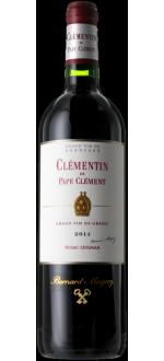 LE CLEMENTIN DE PAPE CLEMENT 2016 - SECOND WINE OF CHATEAU PAPE-CLEMENT