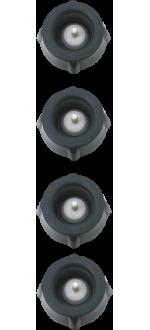 4 BOTTLE STOPPERS - EPIVAC - REF 210069 - PEUGEOT